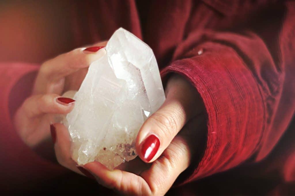 crystal healing quartz crystals Keep at it meditation practice benefits of quartz