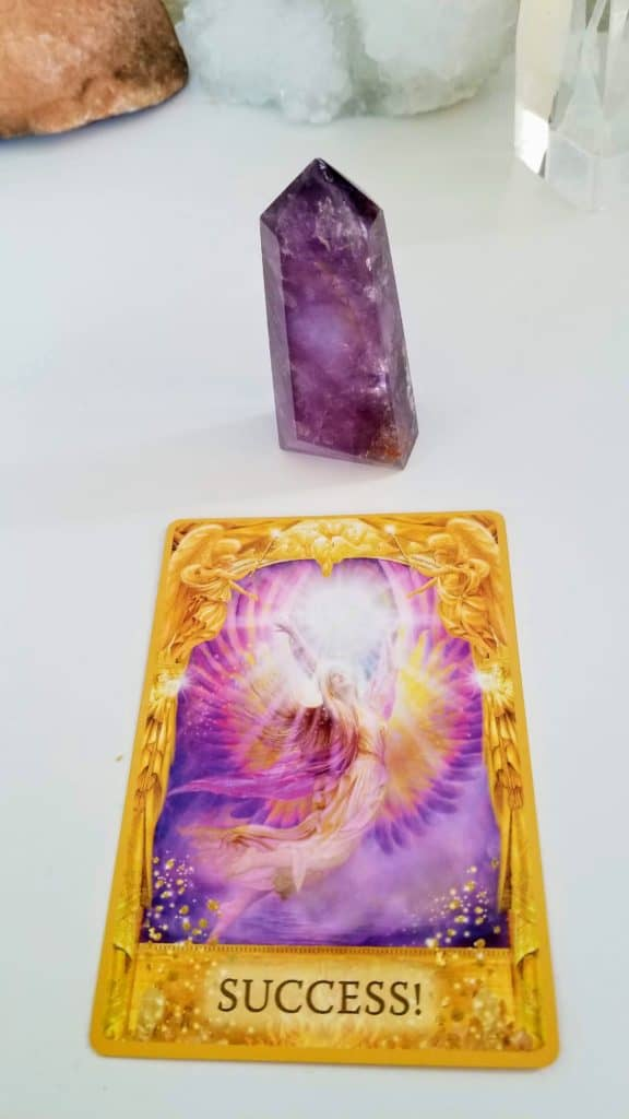 Angel Card Reading - The Theme - 2019 theme angel messenger - success