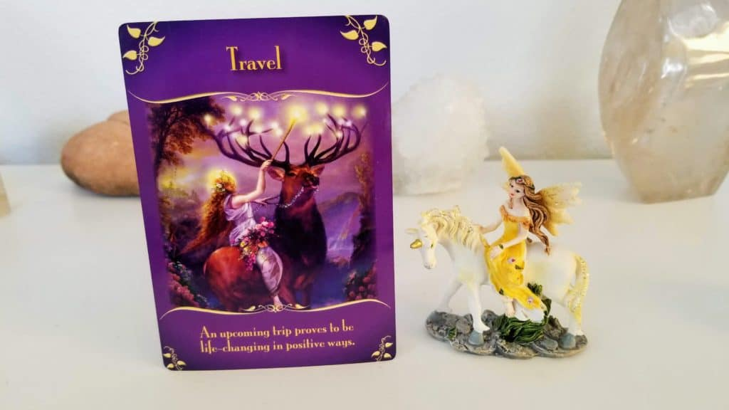 Angel Messenger is here with amazing guidance - jumping card