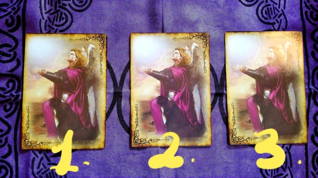 A Basic Angel Card Reading - Tarot Reading -1 - 2- 3 Zane Baker Angel Readings