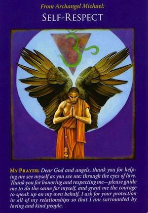 Basic Angel Card Reading - Archangel Michael Self Respect