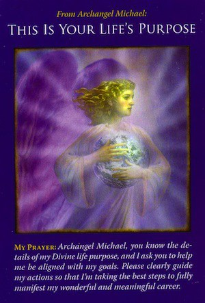 Basic Angel Card Reading - Archangel Michael This is Your Life's Purpose