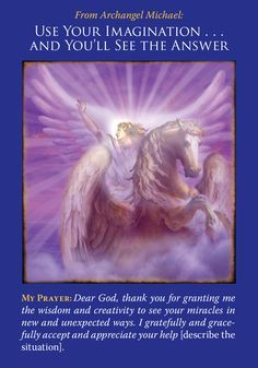 Basic Angel Card Reading - Archangel Michael Use Your Own Imagination And You'll See The Answer