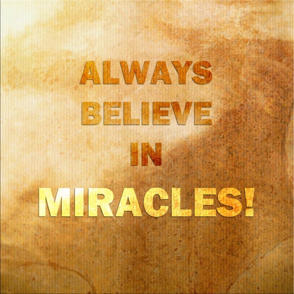 Divine Timing and miracles