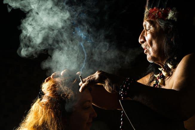 Spiritual Clearing Affect of Sage Burning.